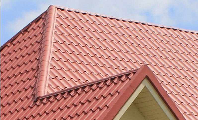 xây dựng nhà mái tôn mạ màu